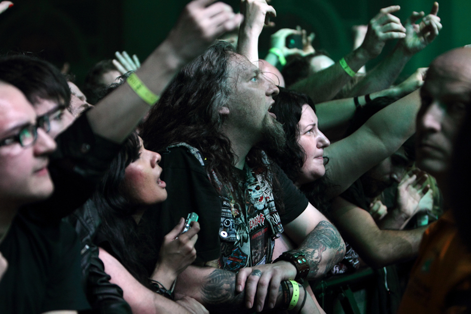 Slayer crowd
