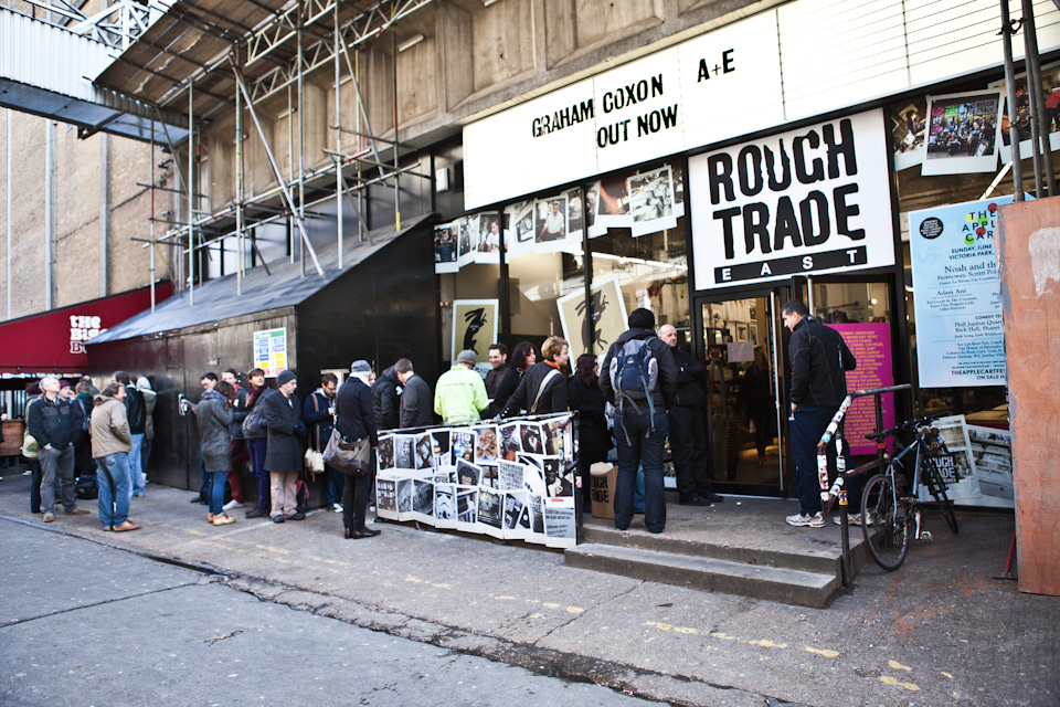 Rough Trade East entrance