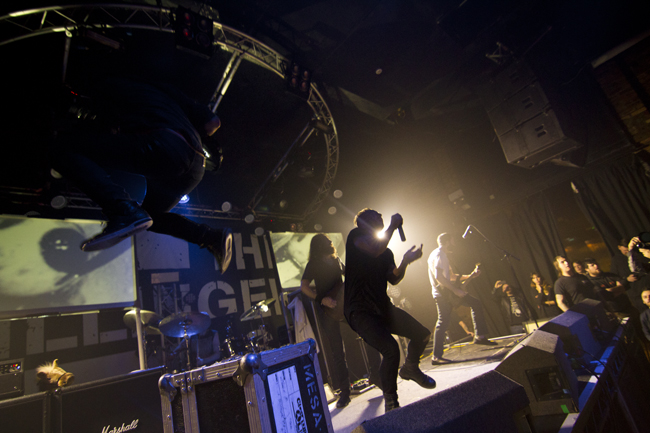 Photos of the dillinger escape plan at the garage in for The garage glasgow