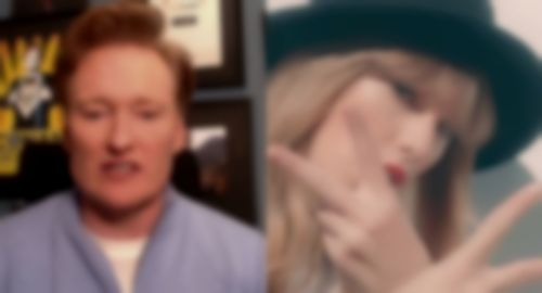 Conan O'Brien posts video response to Taylor Swift track '22′