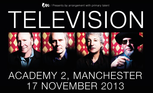 television announce manchester show for november the line of best fit. Black Bedroom Furniture Sets. Home Design Ideas