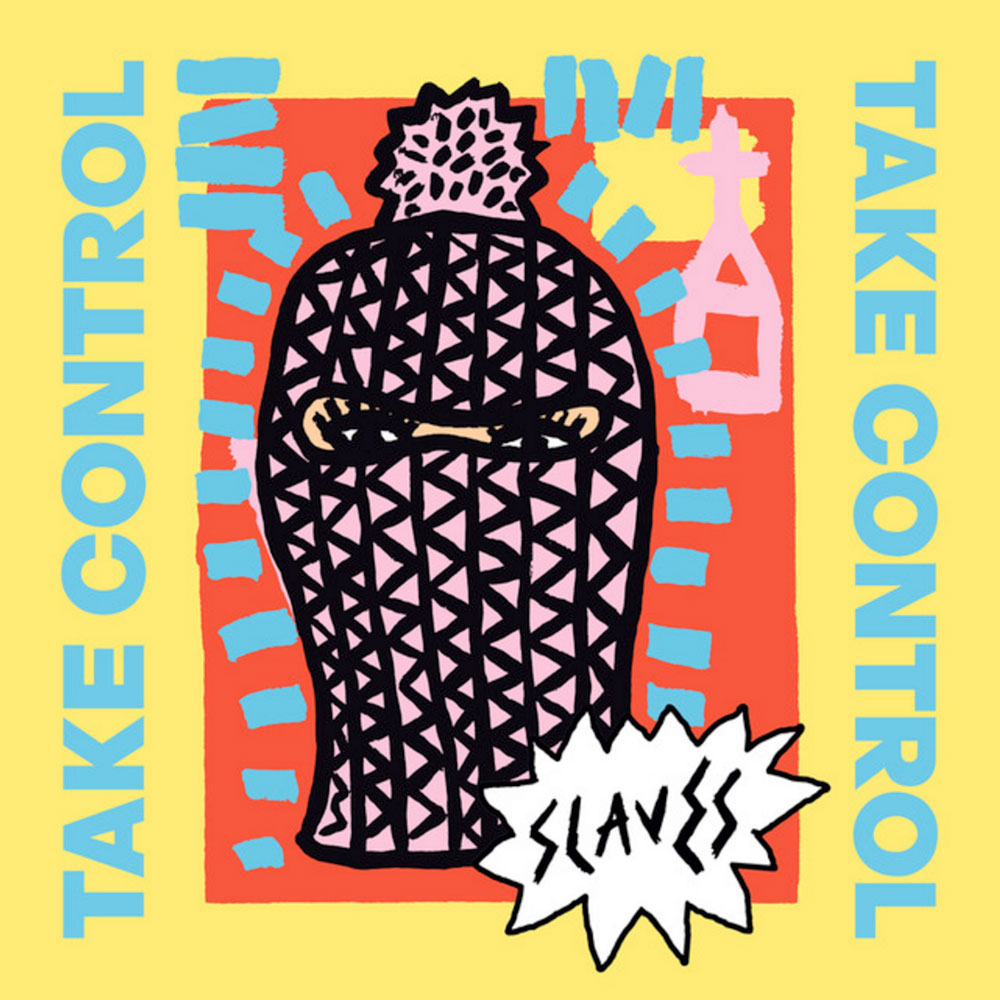 slaves, take, control, punk, rock, album, slave, take control, album cover, art