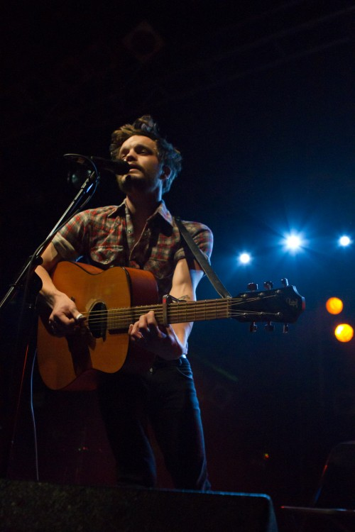 The Tallest Man on Earth live at The Electric Ballroom, London 24 November 2010   Photo by Paul Bridgewater