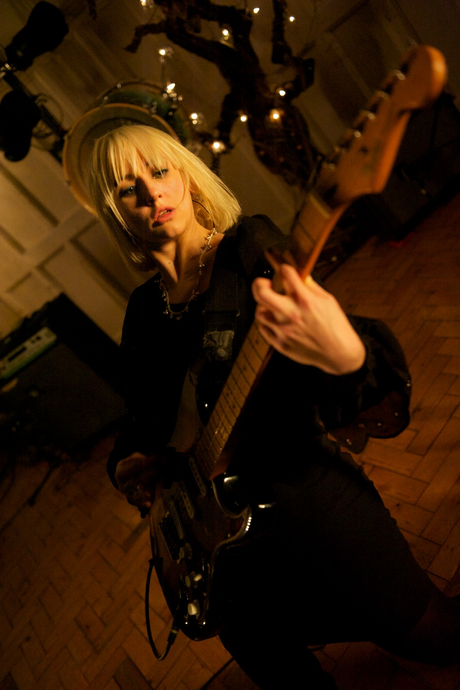 The Joy Formidable - St. Paul's Church, Cambridge 12/02/2011 | Photo by Valerio Berdini