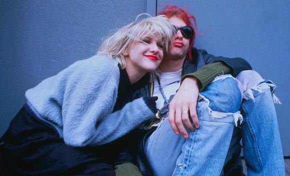 Courtney Love And Kurt Cobain Wedding.Courtney Love Plans Kurt Cobain The Musical