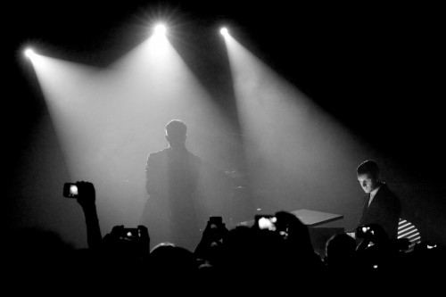 Hurts live in Berlin February 2013 image from http://www.flickr.com/photos/rob-sinclair/
