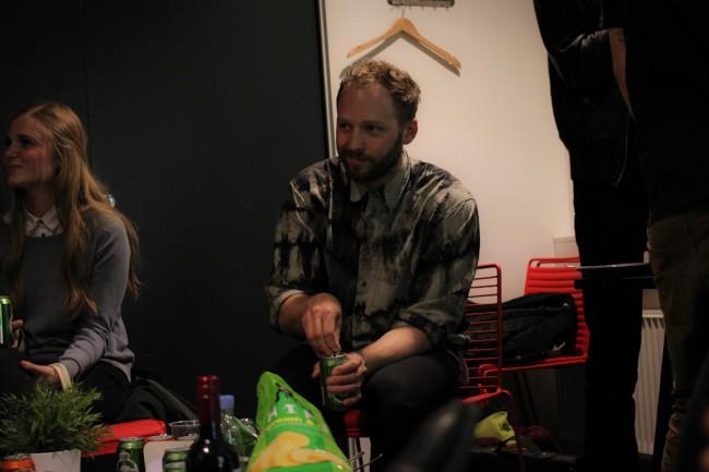 Jesper Lidang, Backstage by Merlin Jobst