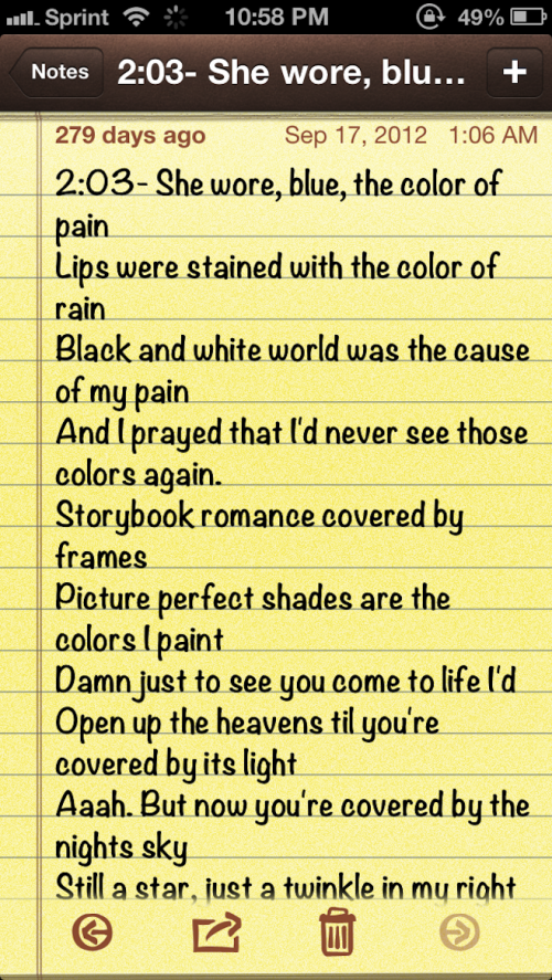 another perfect day lyrics: