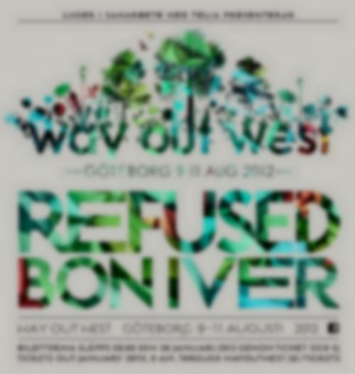 Bon Iver and Refused amongst the first acts confirmed for Way Out West 2012