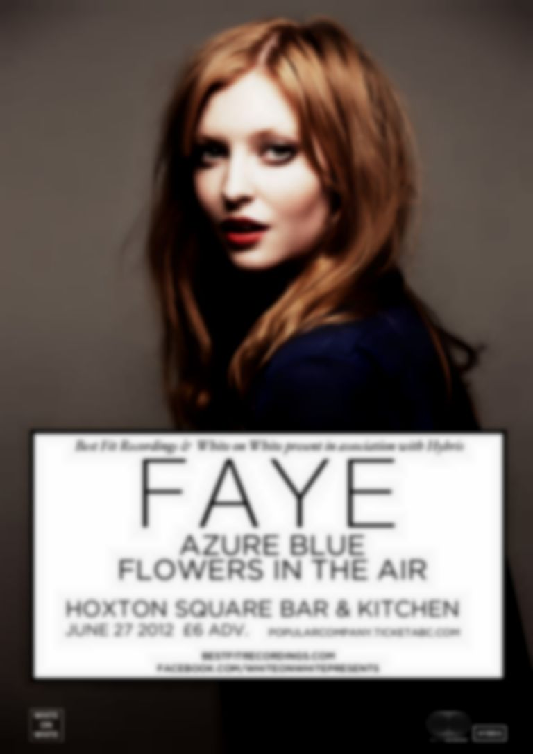 New show: FAYE + Azure Blue + Flowers In The Air