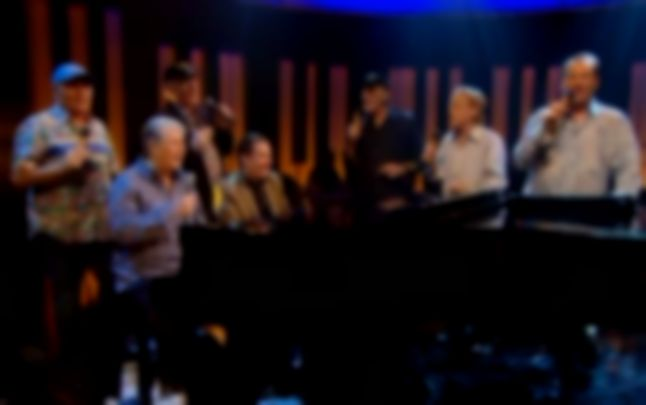 Watch: The Beach Boys perform 'Barbara Ann' with Jools Holland