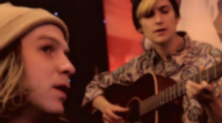 Watch: DIIV perform 'Home' in session at a Paris restaurant