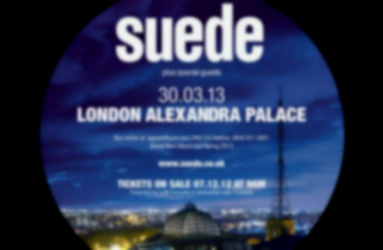 Suede announce new album and London show for 2013