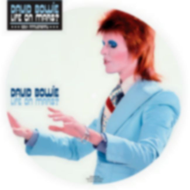 David Bowie to reissue 'Life On Mars?' 40th anniversary picture disc