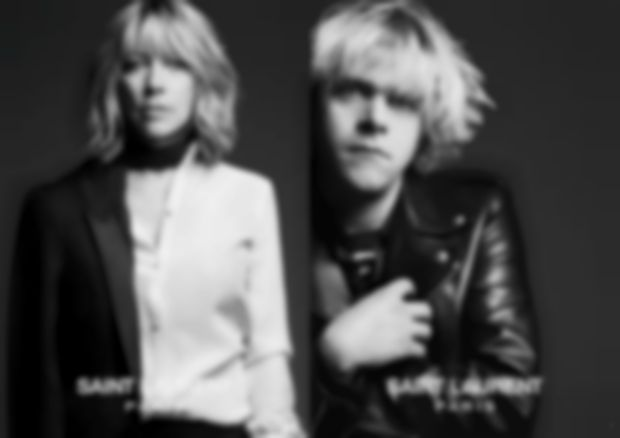 Kim Gordon, Ariel Pink, Courtney Love & Marilyn Manson model for Saint Laurent