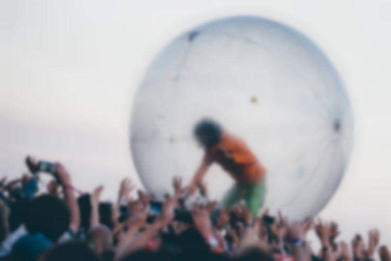 The Flaming Lips' Wayne Coyne got married in a plastic bubble