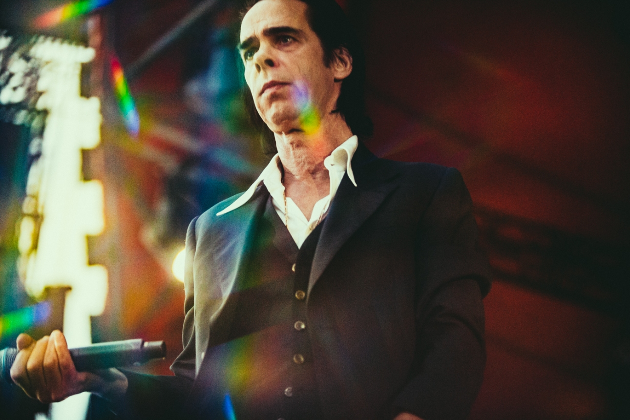 """Nick Cave says the songs on Ghosteen became a """"free-floating conversation with the spirit world"""""""