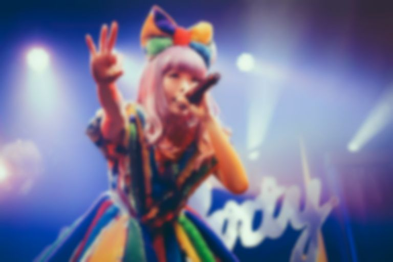 Kyary Pamyu Pamyu becomes a drumming version of Pop-Up Pirate in her new video