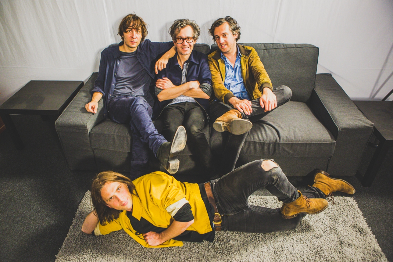 Phoenix are recording new music at Philippe Zdar's Motorbass studio in Paris
