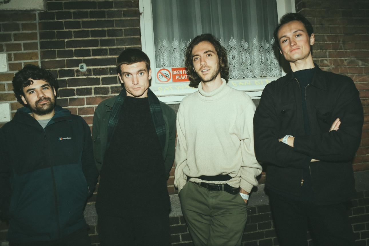 We went behind the scenes with Ought in Rotterdam