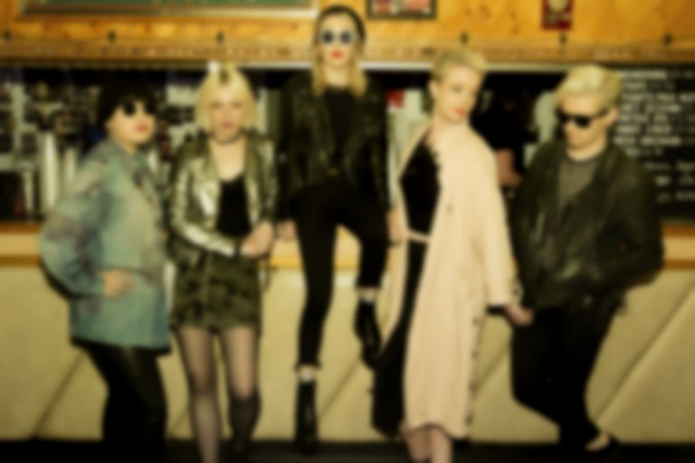 "PINS air ""Serve The Rich"", a new track produced with The Kills' Jamie Hince"
