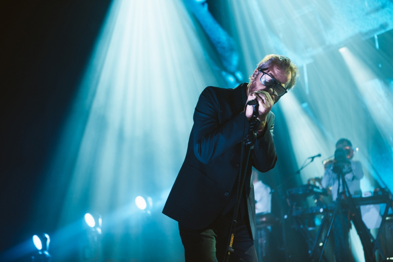The National will release a new live concert film on Amazon Prime this week