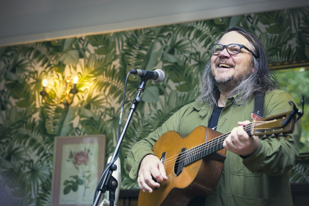 Apparently Jeff Tweedy will be in the next season of Curb Your Enthusiasm