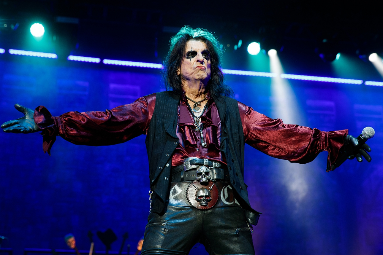 Alice Cooper live in London