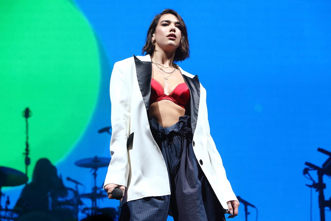 "Apparently Dua Lipa's second album will have ""no ballads"""