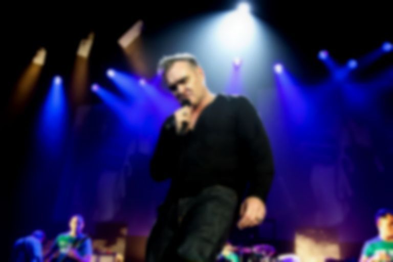 Morrissey wore his For Britain badge during his performance on Jimmy Fallon's Tonight Show
