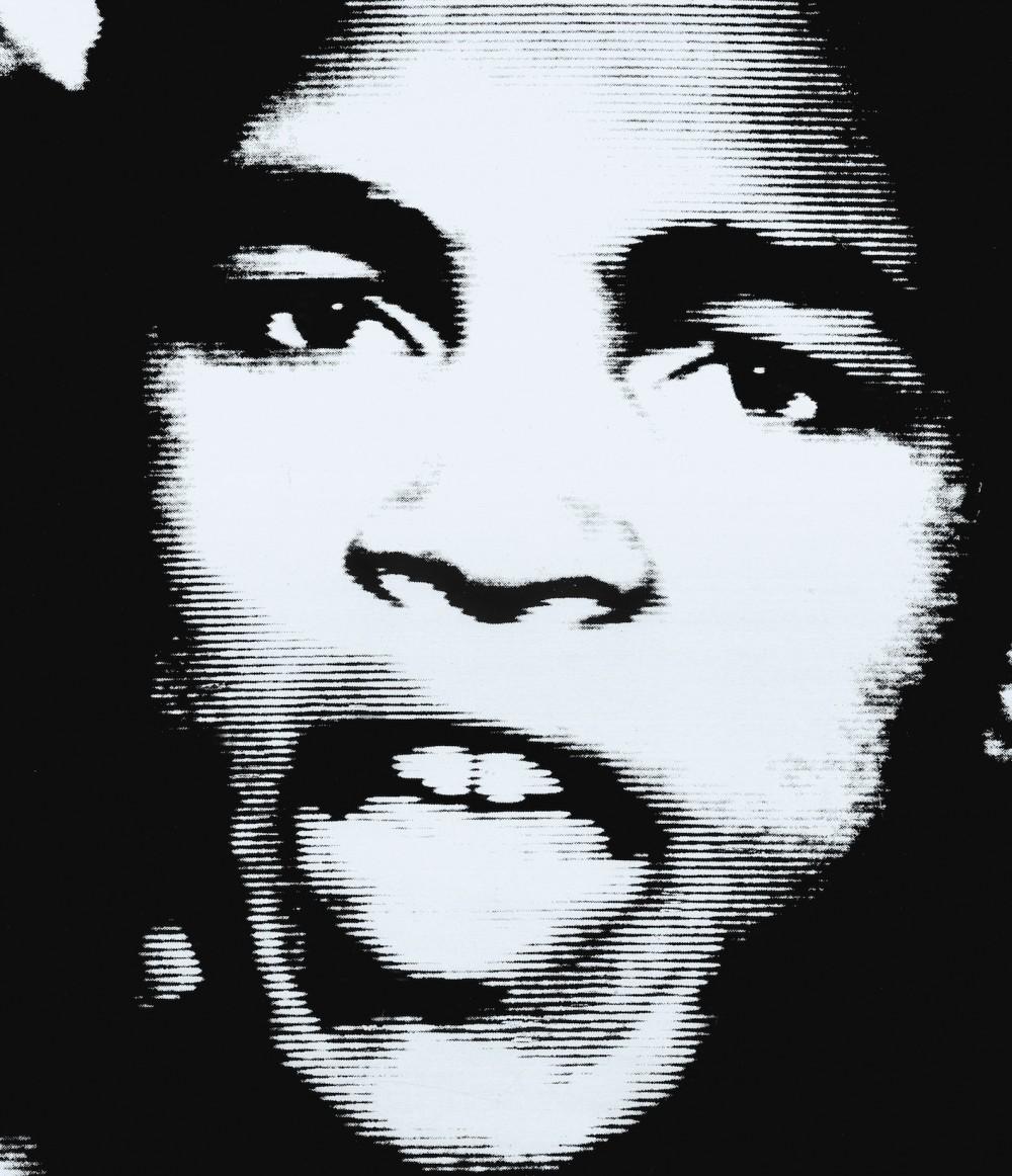 Muhammad Ali - geëmbed van thelineofbestfit