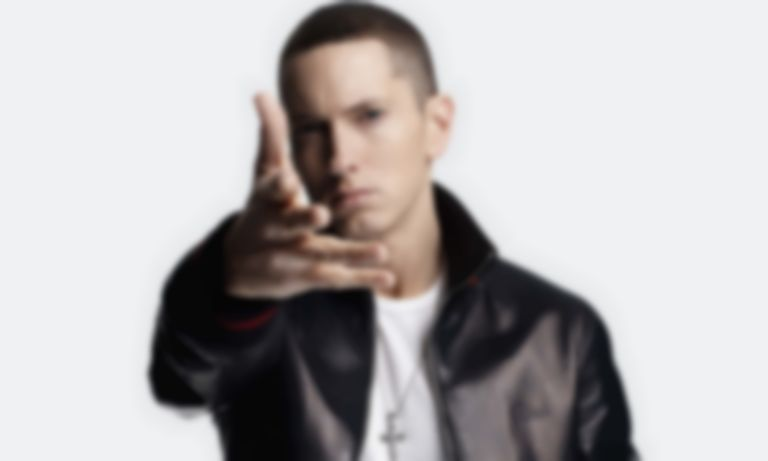 "Eminem samples Chris D'Elia impression on new Logic collaboration ""Homicide"""