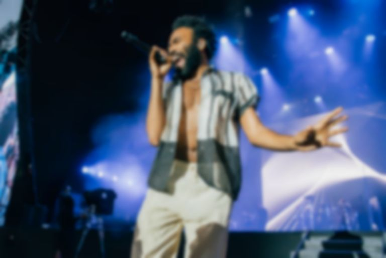 It looks like Rihanna and Childish Gambino are working on a new movie together
