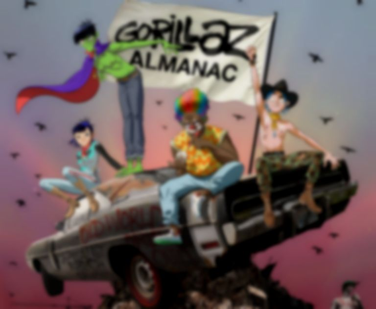 Gorillaz announce debut almanac book