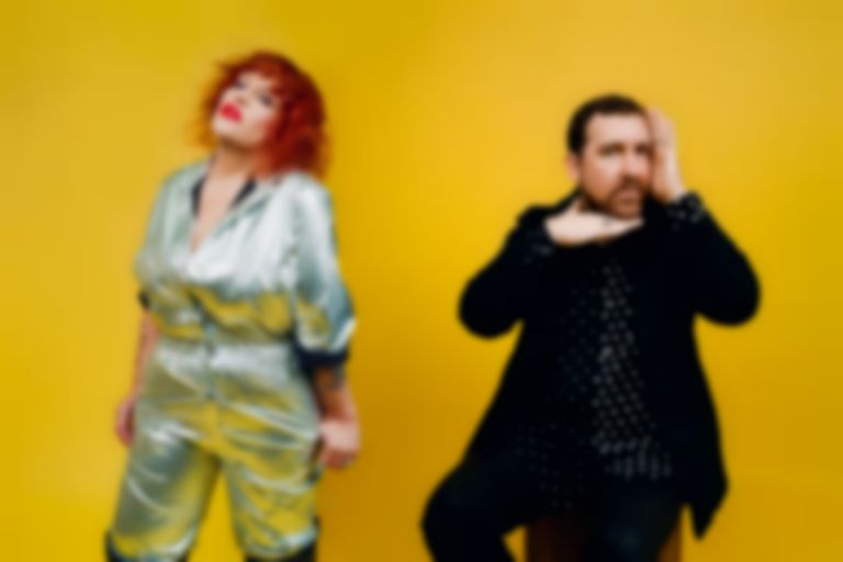 "Hot Chip's Joe Goddard and Amy Douglas form HARD FEELINGS, unveil debut single ""Holding On Too Long"""