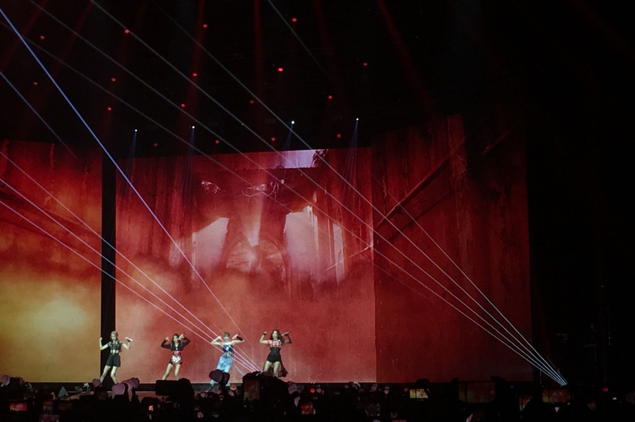 BLACKPINK make their London debut at sold-out Wembley Arena show