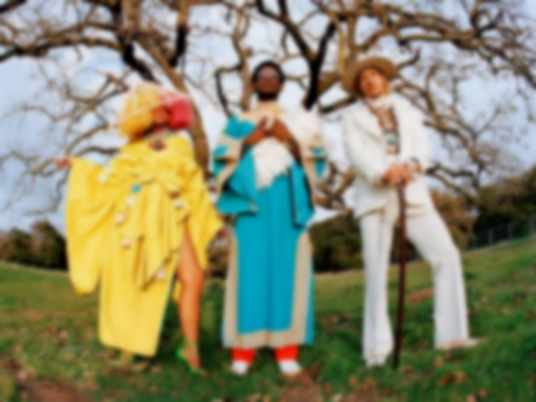 "LSD (Labrinth, Sia, and Diplo) share tropical pop single ""No New Friends"""