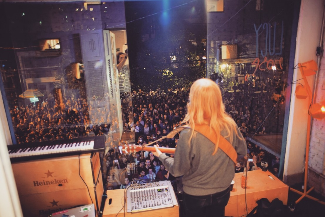 Lucy Rose in Brazil