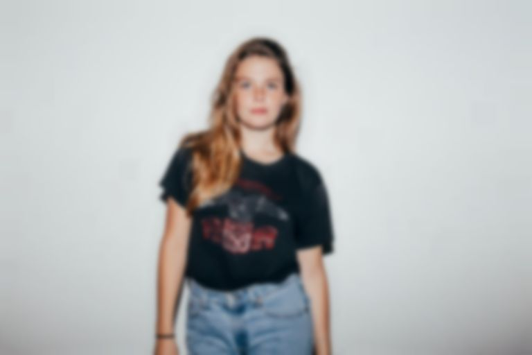 You can hear a new Maggie Rogers track but you're gonna have to sweat for it