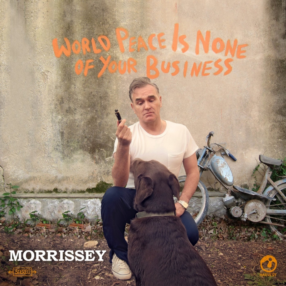 "Image result for Morrissey – ""World Peace Is None of Your Business"""