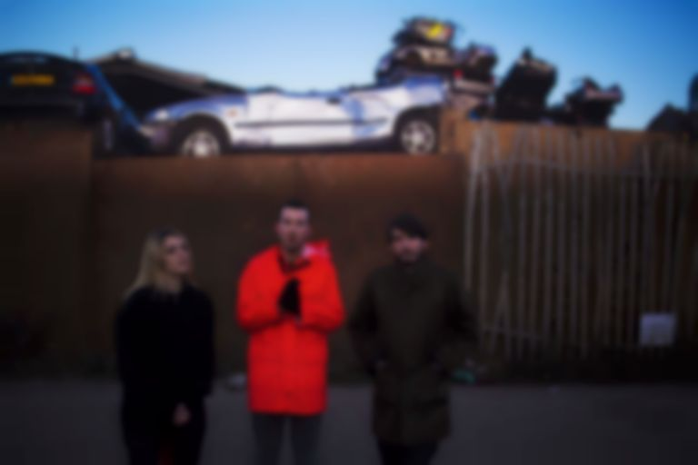 "London post-punks Pozi question sociopolitical flaws on raw new track ""Watching You Suffer"""