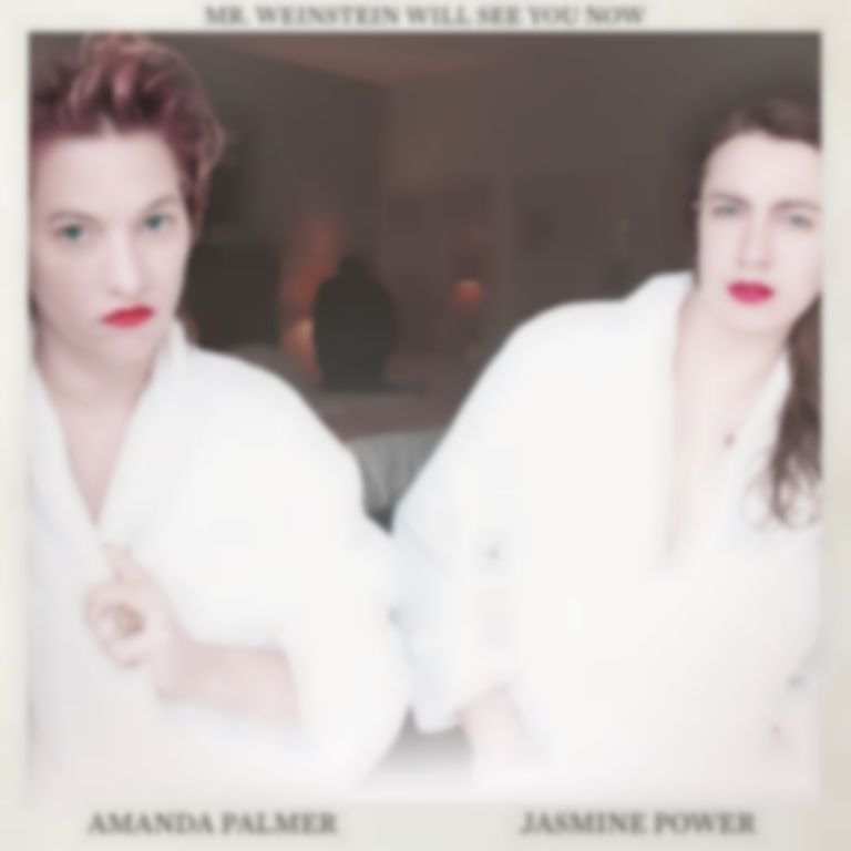 "Amanda Palmer & Jasmine Power dropped new track ""Mr. Weinstein Will See You Now"" prior to his arrest"