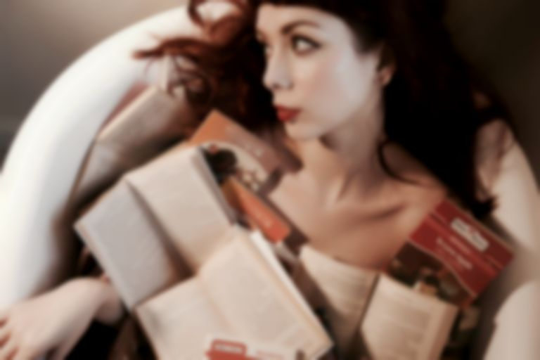 "The Anchoress announces debut LP Confessions Of A Romance Novelist, streams lead cut ""Popular"""