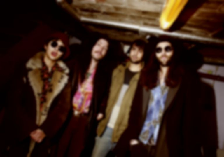 "Berlin-via-Melbourne quartet Violet Fields weave wistful garage-psych on ""Second Chance"""