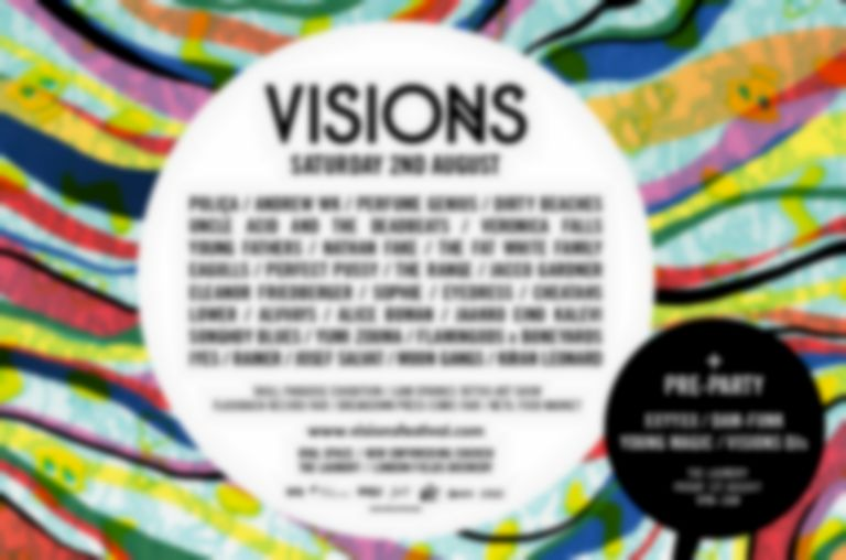 Visions Festival completes the bill with Nathan Fake and Cheatahs