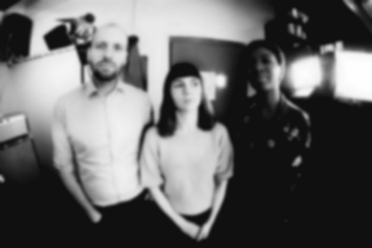"Post-punk trio Witching Waves pack a powerful punch on tumultuous new track ""Eye 2 Eye"""