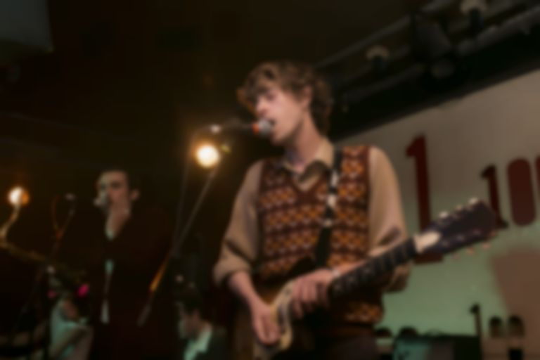 Insecure Men were quietly confident at the 100 Club last night