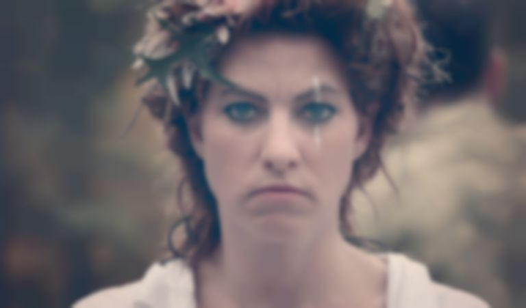 "Amanda Palmer shares political visuals for string quartet cover of Pink Floyd's ""Mother"""