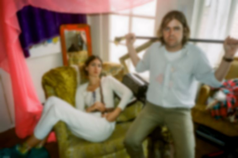 "Ariel Pink and Weyes Blood team up for new EP, share lead single ""Tears On Fire"""