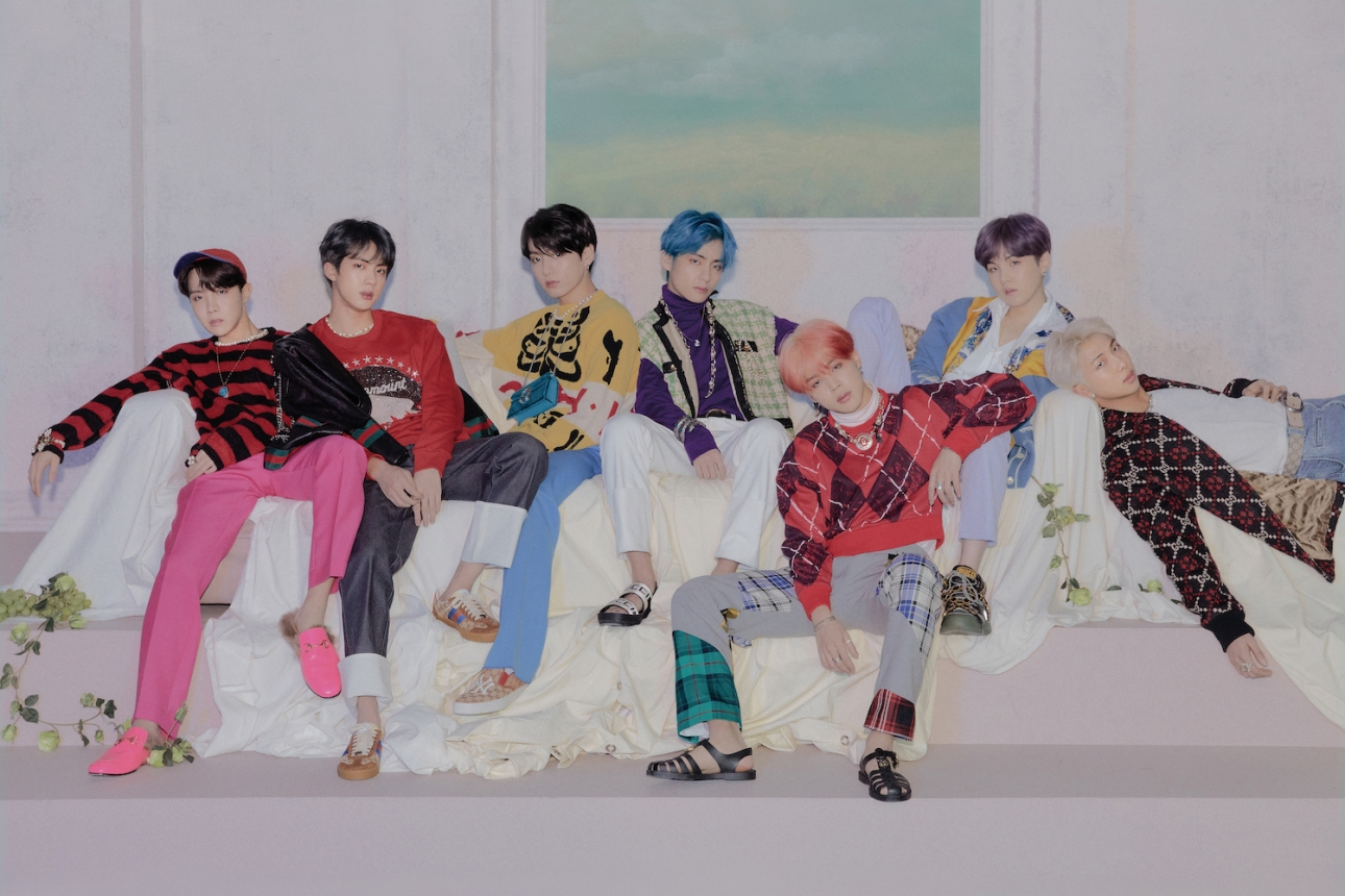 BTS have returned from their break